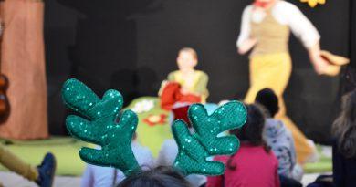 """Une journée de Noël """" Magique"""" pour les enfants des Accueils des Mercredis Loisirs."""