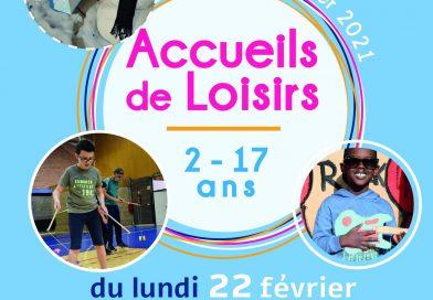 INSCRIPTIONS ACCUEILS DE LOISIRS HIVER 2021