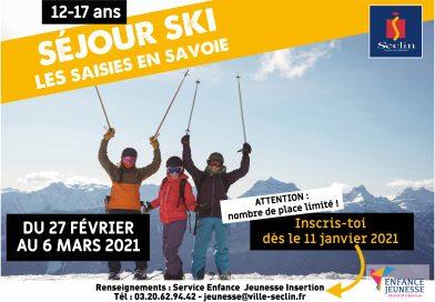 Séjour ski 2021