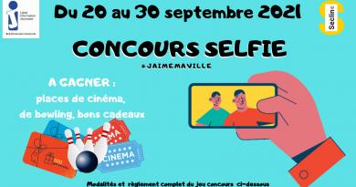 Concours Selfie #jaimemaville